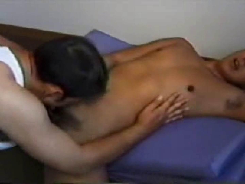 マッチョな青年のアナル比べ フェラ ゲイ素人エロ画像 89枚 89
