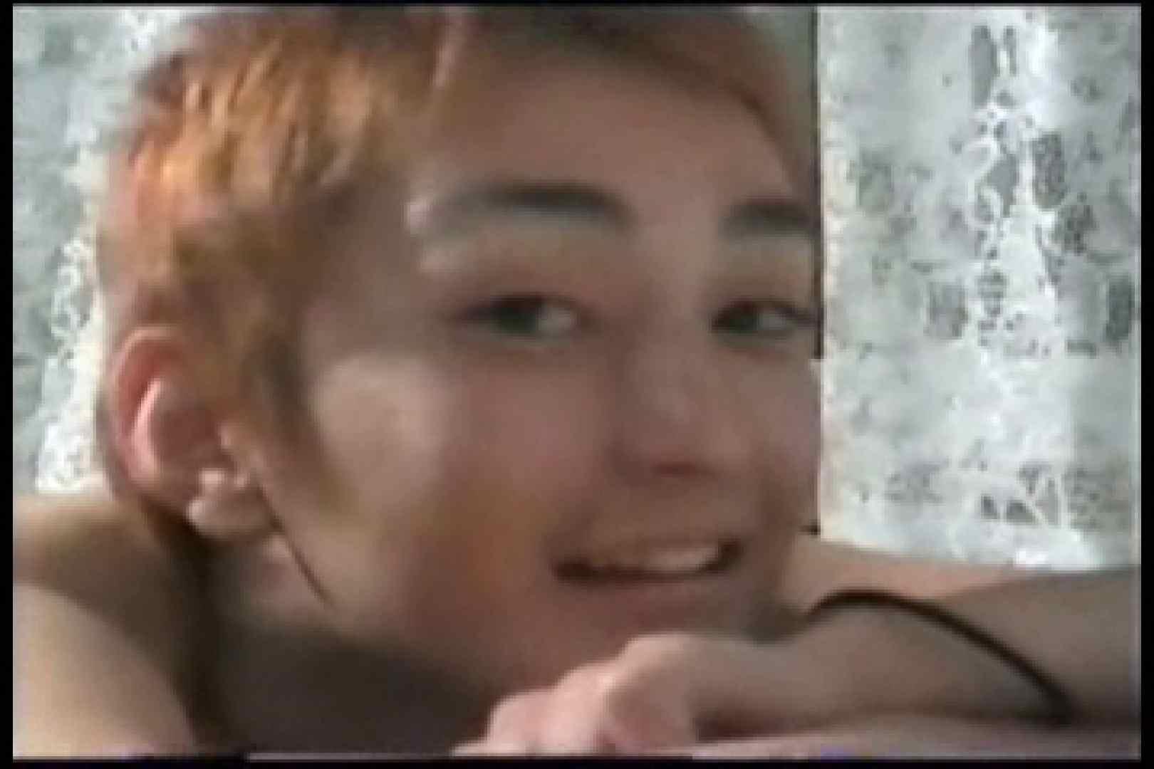 【流出】アイドルを目指したジャニ系イケメンの過去 射精 GAY無修正エロ動画 107枚 102