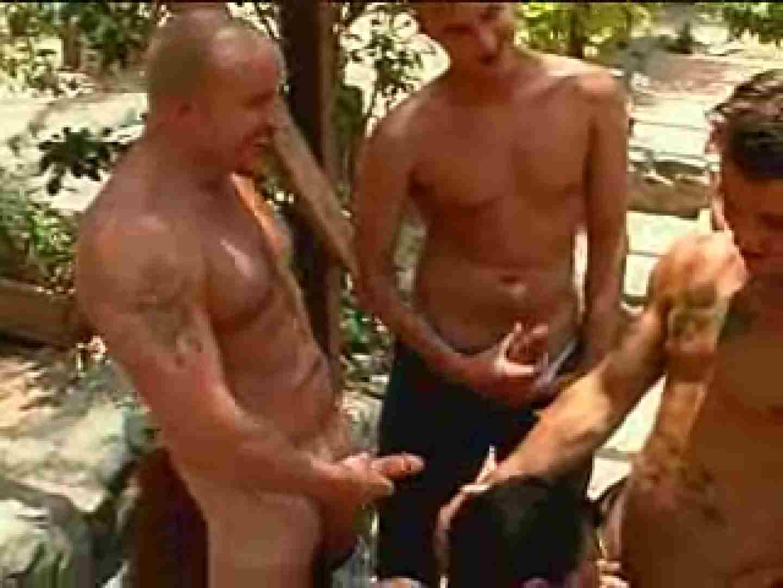 外人さの野外超乱交パーティー 野外露出 ゲイ素人エロ画像 72枚 46