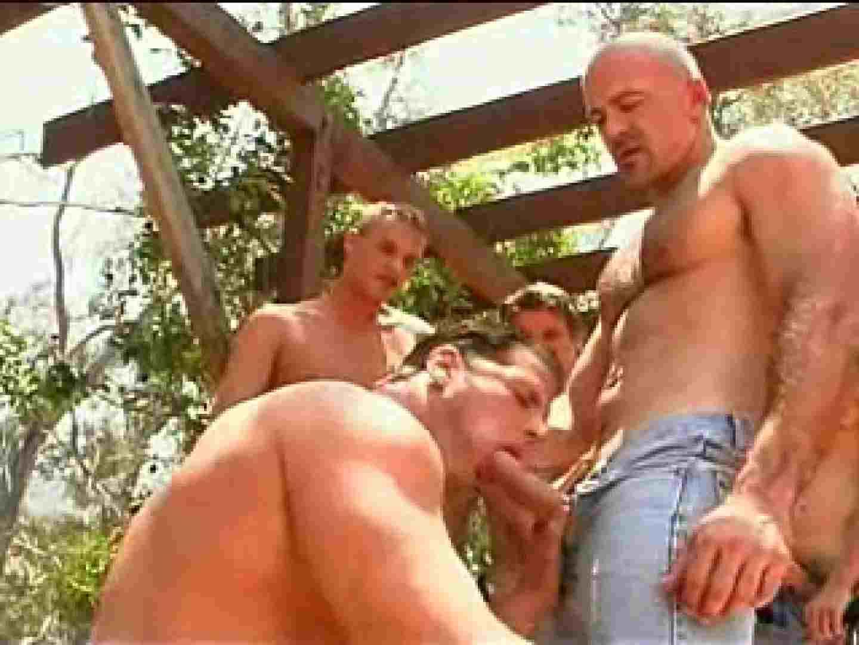 外人さの野外超乱交パーティー 野外露出 ゲイ素人エロ画像 72枚 54