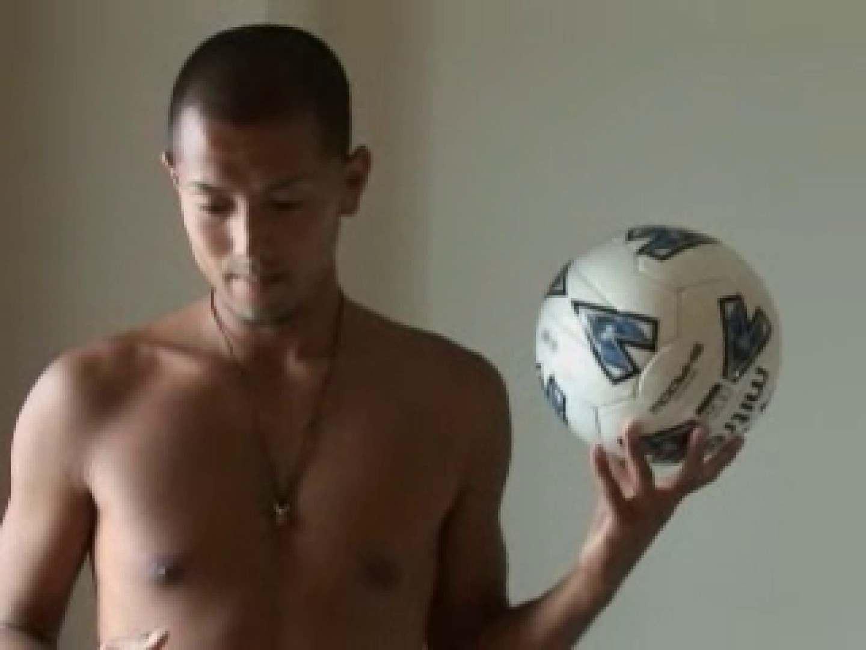 すっきり坊主のサッカー青年のイメージ撮影 男 ゲイ無料無修正画像 116枚 85