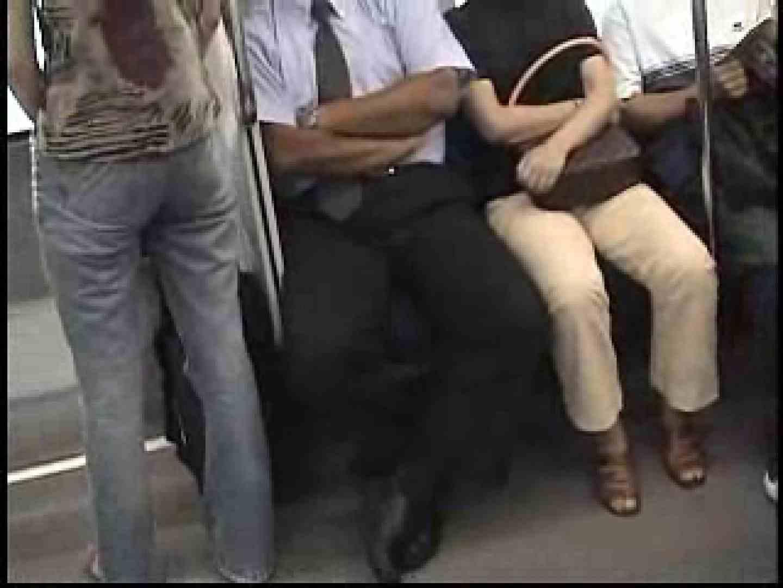 電車内でリーマンの股間撮影 イメージ(エロ) ゲイエロ画像 90枚 2