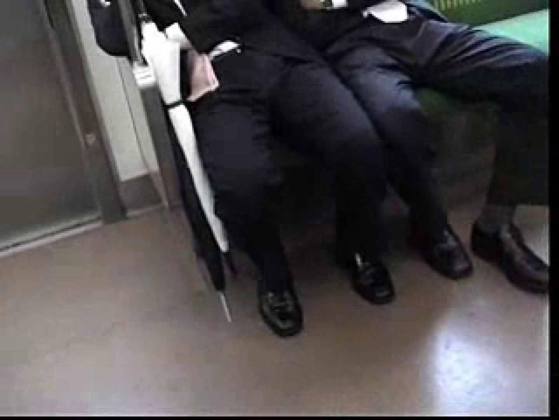 電車内でリーマンの股間撮影 イメージ(エロ) ゲイエロ画像 90枚 15