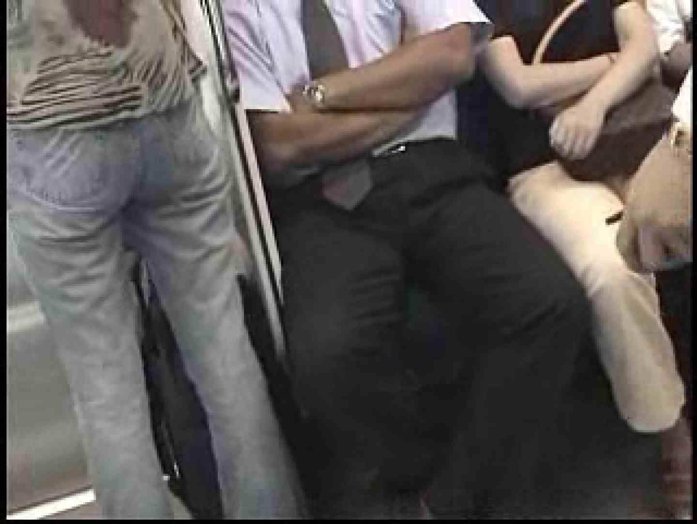 電車内でリーマンの股間撮影 イメージ(エロ) ゲイエロ画像 90枚 33