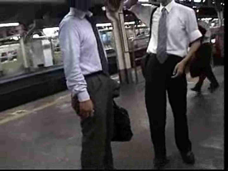 電車内でリーマンの股間撮影 イメージ(エロ) ゲイエロ画像 90枚 76