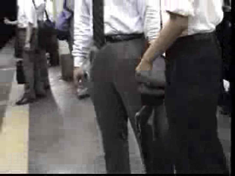電車内でリーマンの股間撮影 イメージ(エロ) ゲイエロ画像 90枚 84