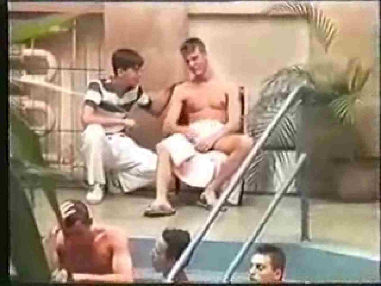 白人さんたちのプールサイドファックファック! ! アナル責め ゲイ発射もろ画像 98枚 4