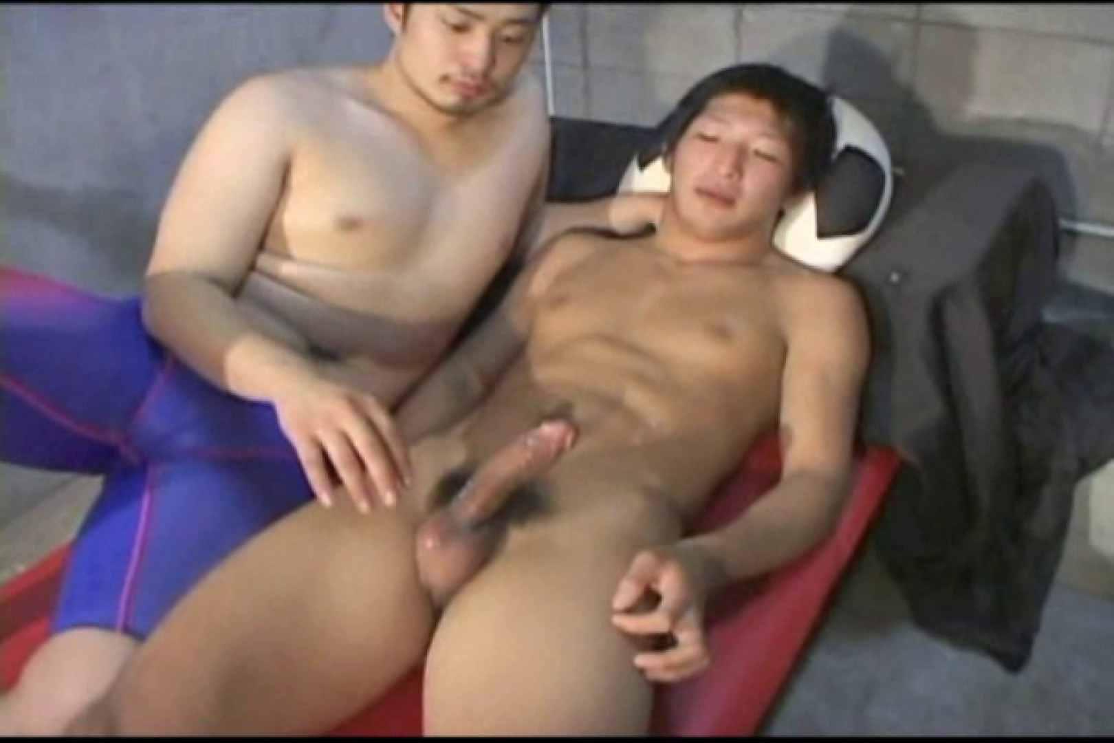 機械室で体育会系男子を手コキ&フェラ!! フェラ ゲイ素人エロ画像 68枚 5